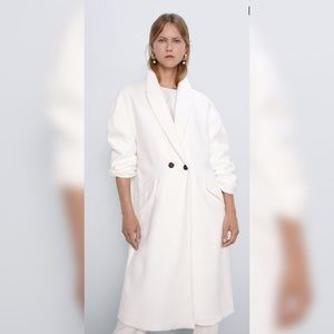 ZARA OVERSIZED COAT